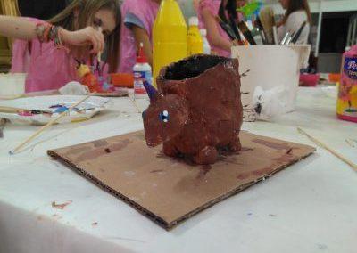 taller cumpleaños escultura