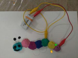 plastilina conductiva