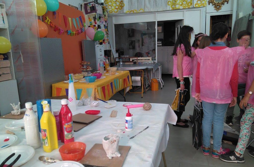 Cumpleaños Infantil: Taller de animales de  arcilla