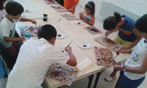 campamento niños arte 2020