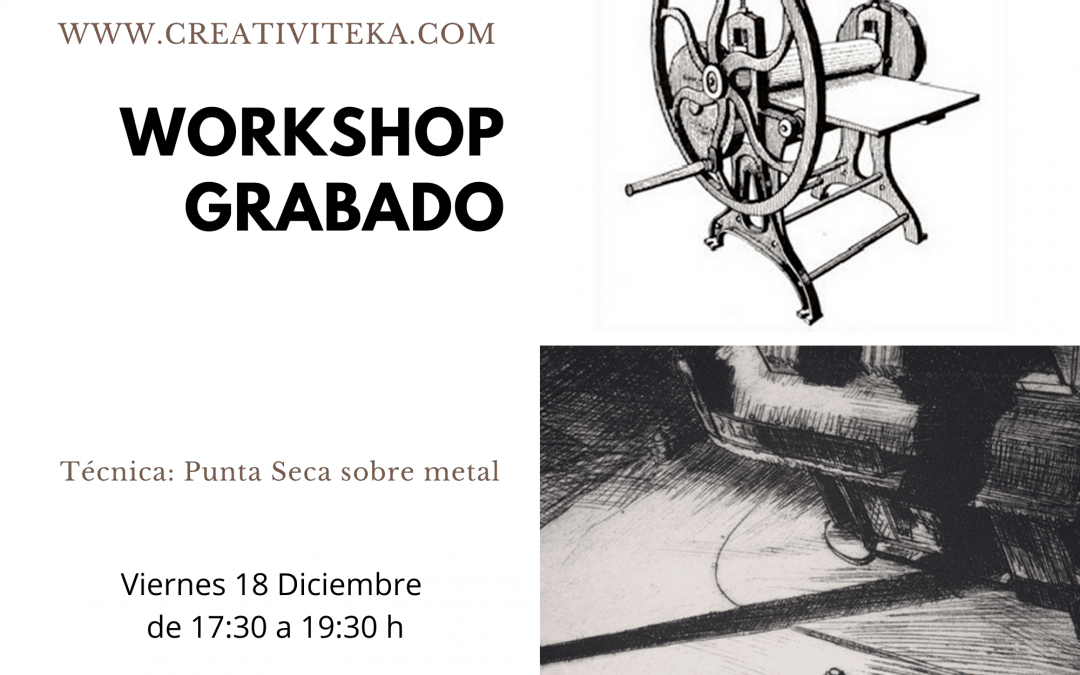 Workshop de Grabado en Chamberí