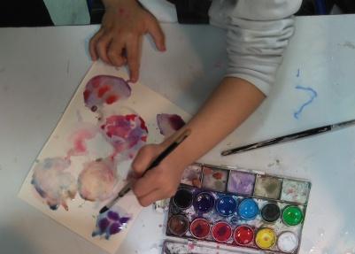 chamberi clases pintura niños